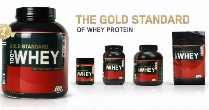100% Whey Protein da Optimum Nutrition