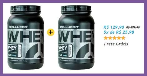 Super Promoção Whey Cellucor