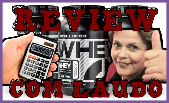Whey Cellucor - Review Clube do Whey