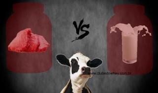 Proteína da carne ou Whey Protein